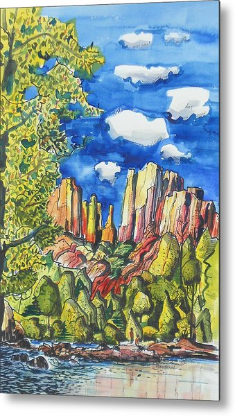 Bright Spring Day Metal Print