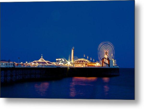 Brighton Palace Pier Metal Print