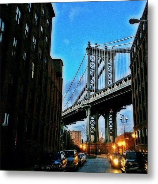#brooklyn #ny #newyork #newyorker Metal Print