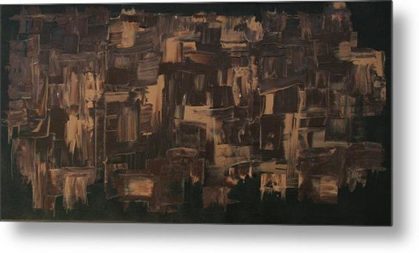 Brown And Brown Metal Print by James Johnson