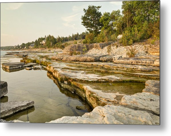 Bruce Peninsula Ontario Landscape Metal Print