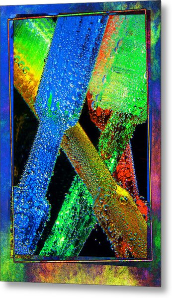 Brushes Metal Print