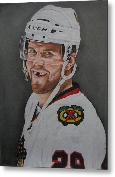 Bryan Bickell Metal Print by Brian Schuster