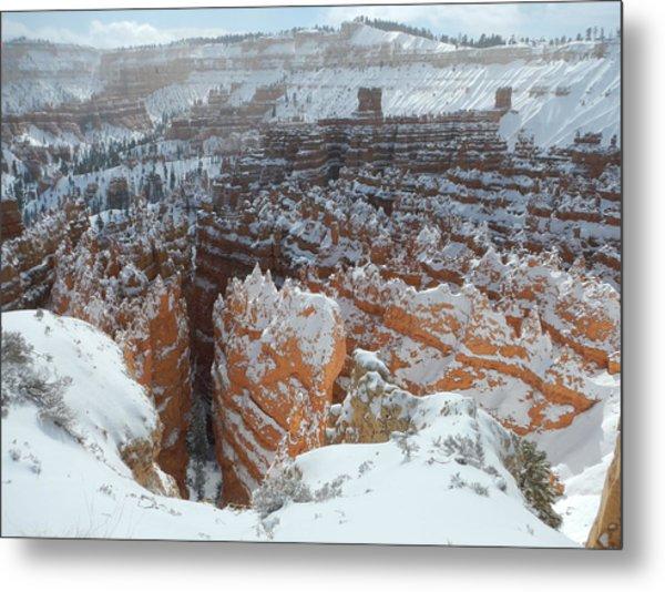 Bryce Canyon Feburary  Metal Print
