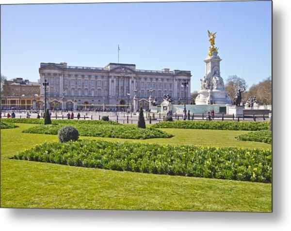 Buckingham Palace  Metal Print by David French