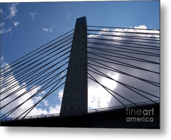 Bucksport Bridge Metal Print
