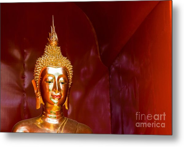 Buddha Bliss Metal Print