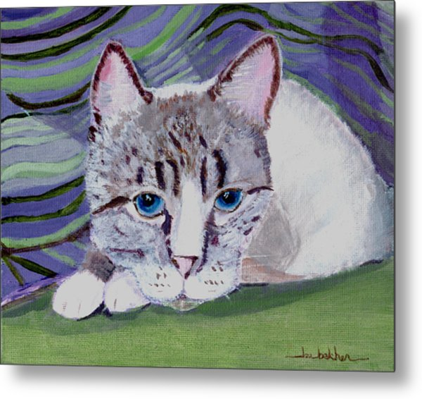 Bugsy's Quilt Metal Print