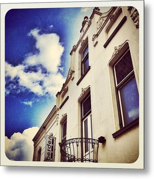 Building In The Centre Of #venray Metal Print