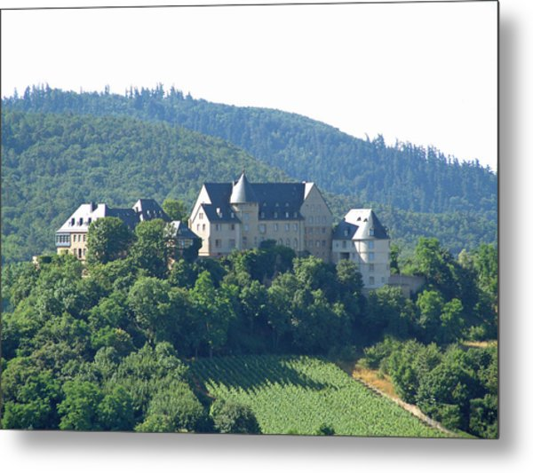 Burg Ebernburg Germany Metal Print