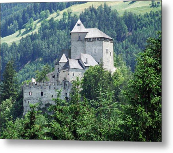 Burg Reifenstein Sterzing Italy Metal Print by Joseph Hendrix
