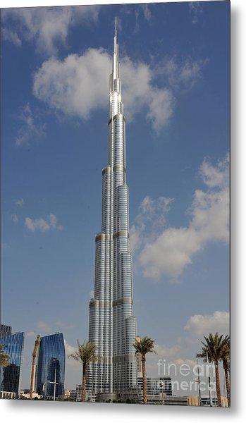 Burj Khalifa 2 Metal Print by Graham Taylor