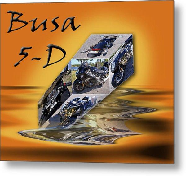 Busa 5-d Metal Print