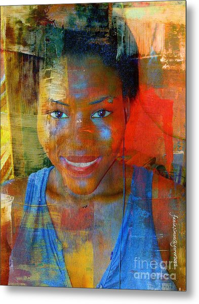 But Still Blessed Metal Print by Fania Simon