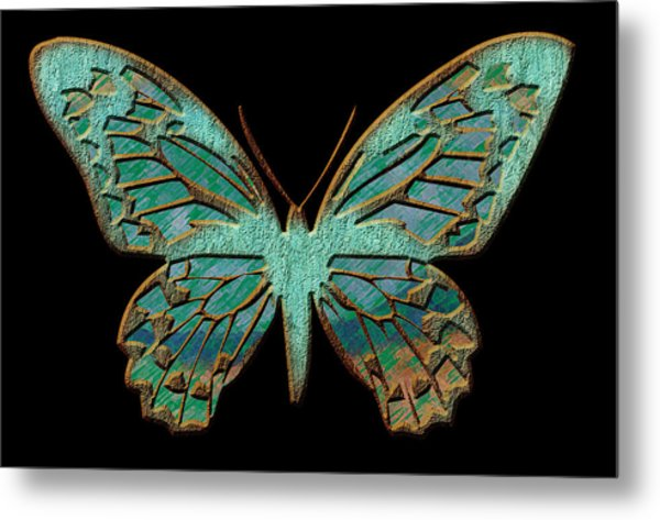 Butterflies By Design Metal Print by Edie Kynard