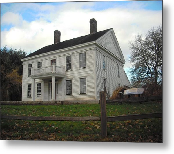 Bybee Howell House Metal Print