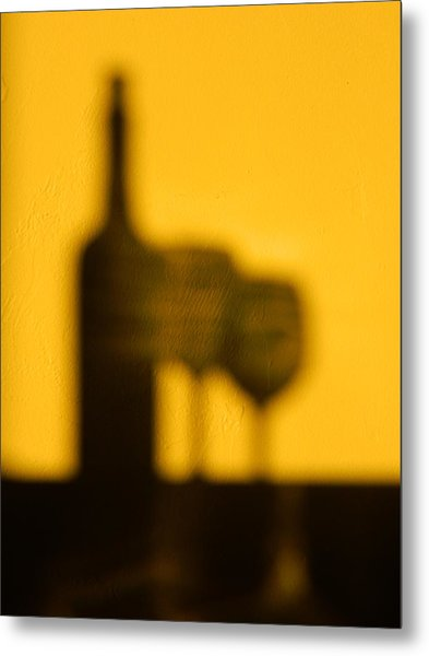 Cabernet Afternoon Metal Print