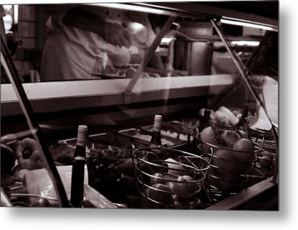 Cafe Metal Print by Kevin Duke