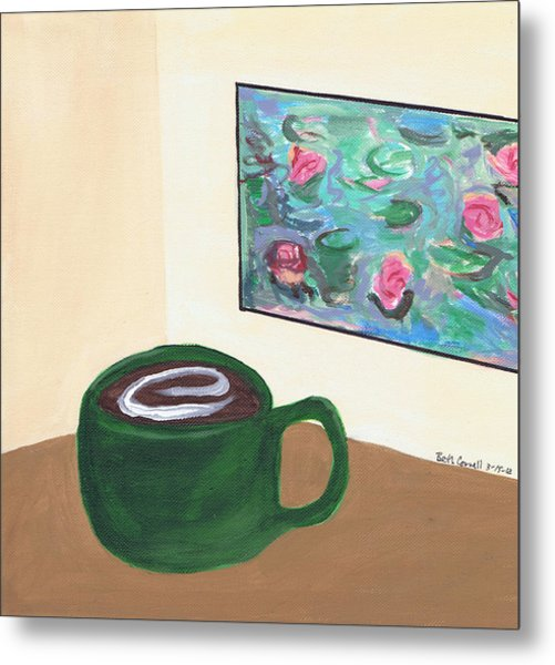 Cafe Monet Metal Print