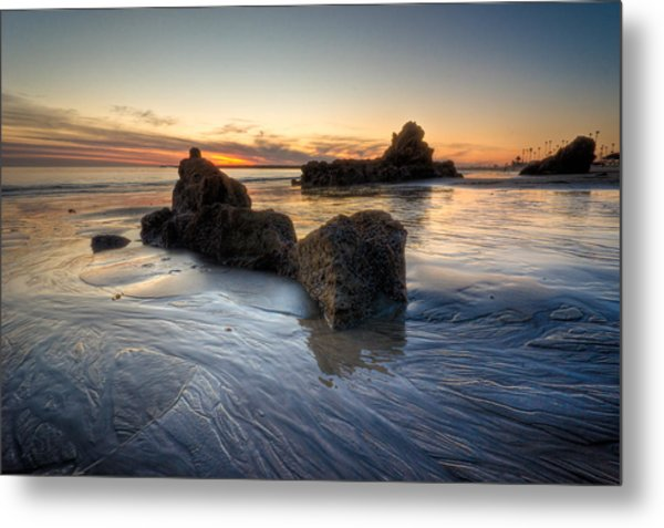 Cali Sunset Metal Print by Brian Leon