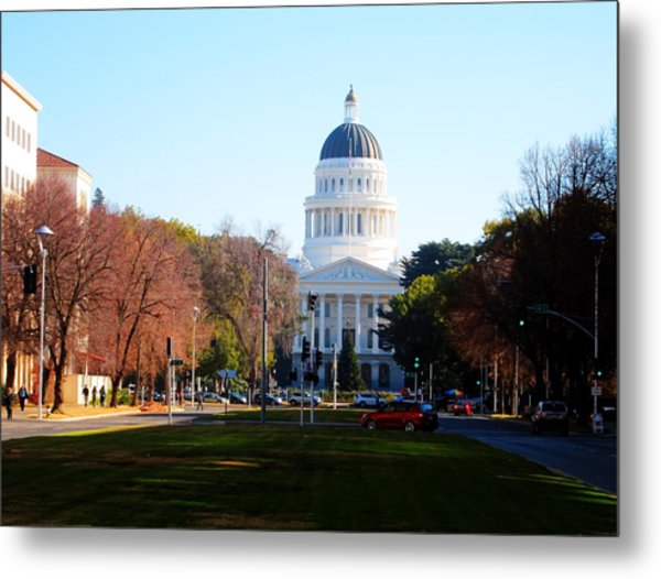 California Capitol Building-3 Metal Print