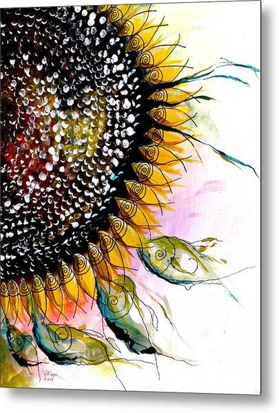 California Sunflower Metal Print