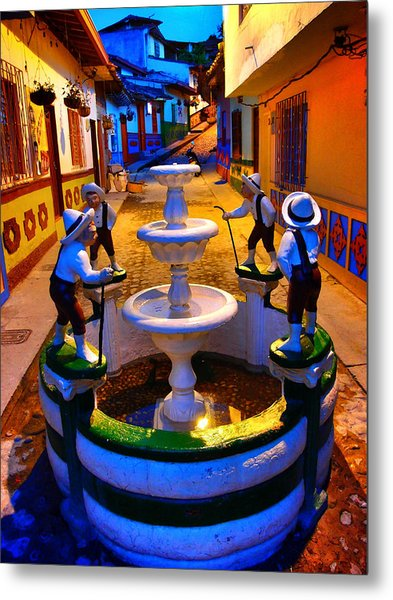 Metal Print featuring the photograph Calle Del Recuerdo by Skip Hunt
