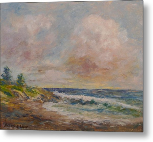 Cambria Shore Metal Print