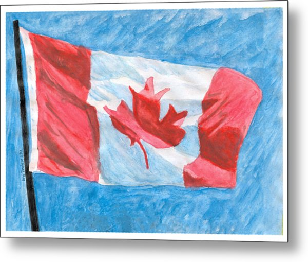 Canada Day Metal Print