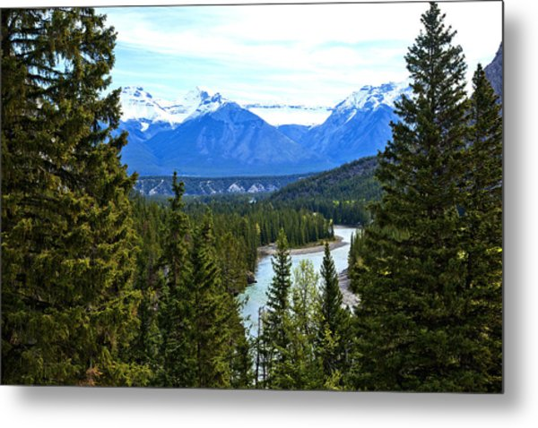 Canadian Lake 1691 Metal Print by Larry Roberson