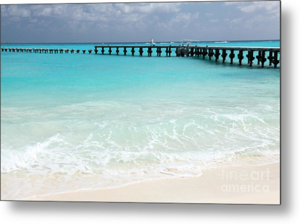 Cancun Metal Print
