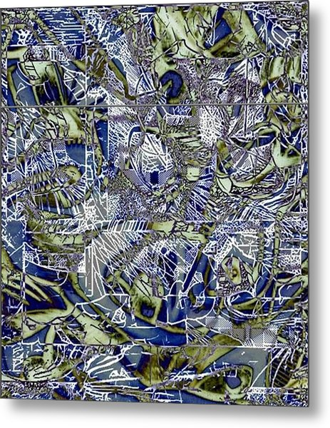 Candy Metal Print by Dave Kwinter