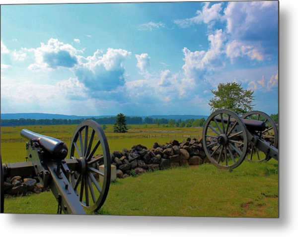Cannons Metal Print by Justin Mac Intyre