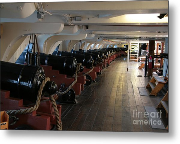Cannons Of The Constitution Metal Print