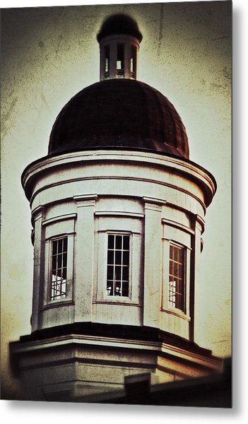 Canton Courthouse Dome Metal Print