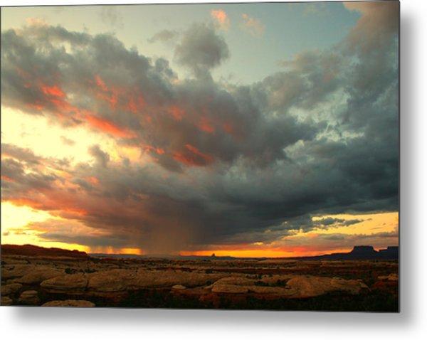 Canyonlands Sunset Metal Print by William Joseph