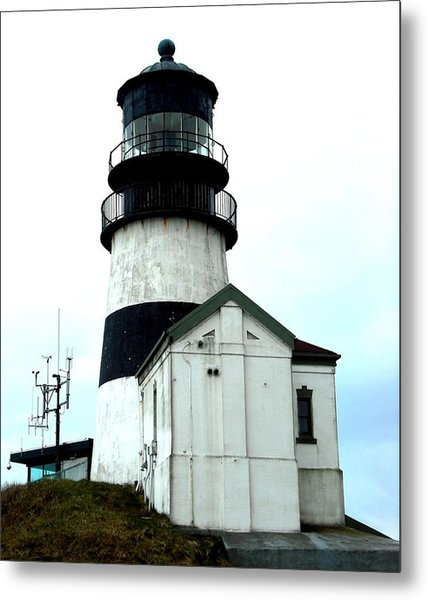 Cape Disappointment Lighthouse Metal Print