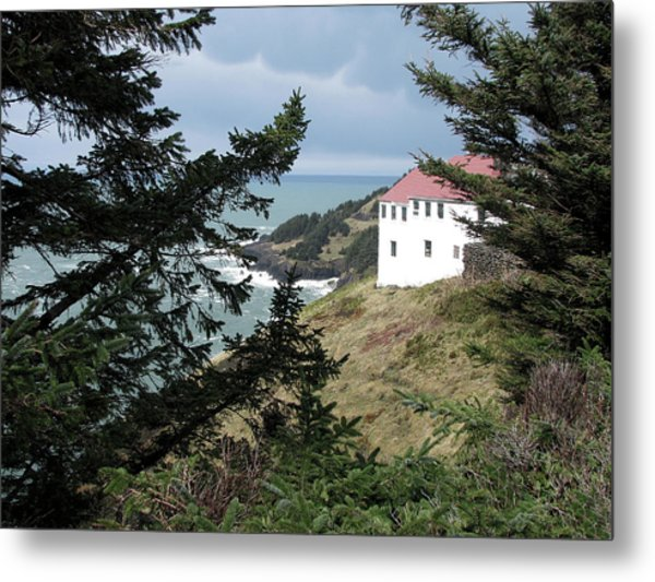 Cape Foulweather Clouds Metal Print
