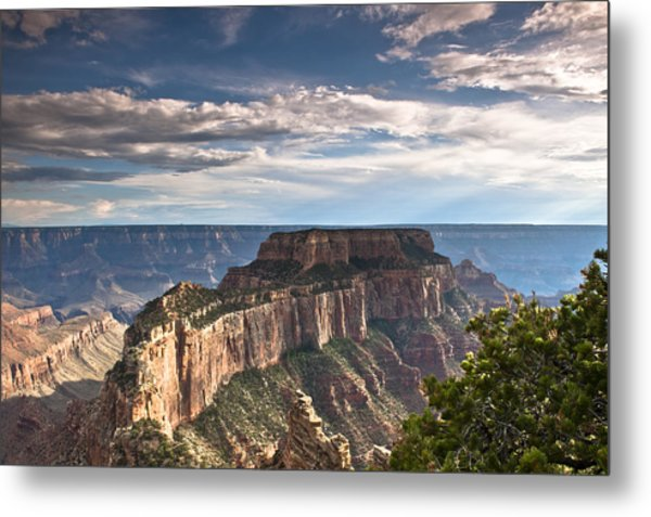 Cape Royal North Rim Grand Canyon Metal Print