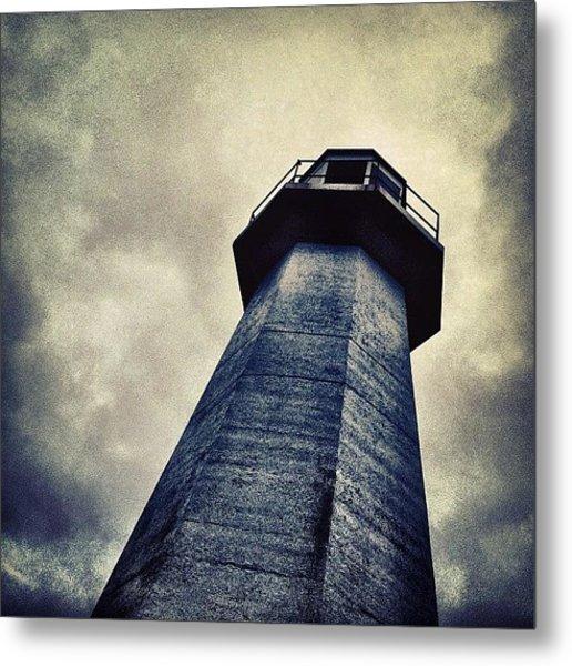Cape Spear, Newfoundland Lighthouse Metal Print