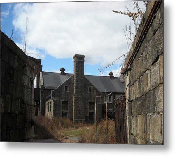 Caretaker's Mansion Metal Print