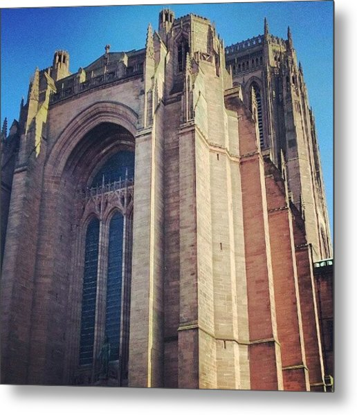 #carhederal #church Metal Print
