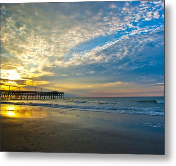 Metal Print featuring the photograph Carolina Sunrise by Francis Trudeau