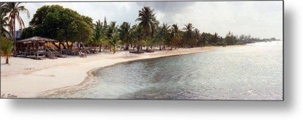Carribean Shore Metal Print