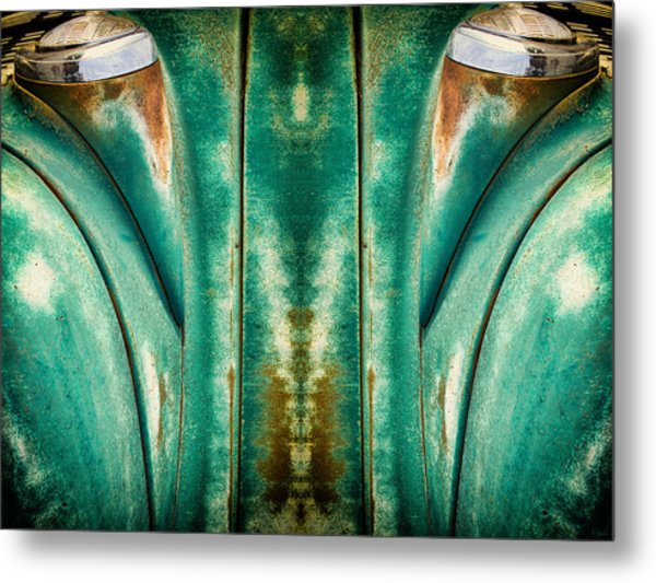 Carschach001 Metal Print by Tony Grider