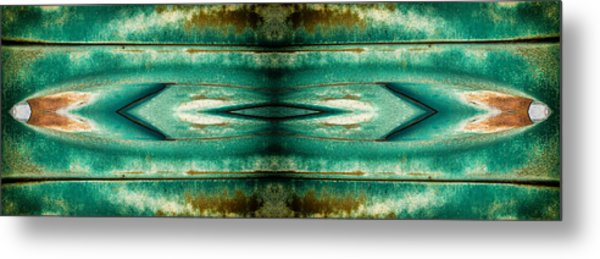 Carschach002 Metal Print by Tony Grider