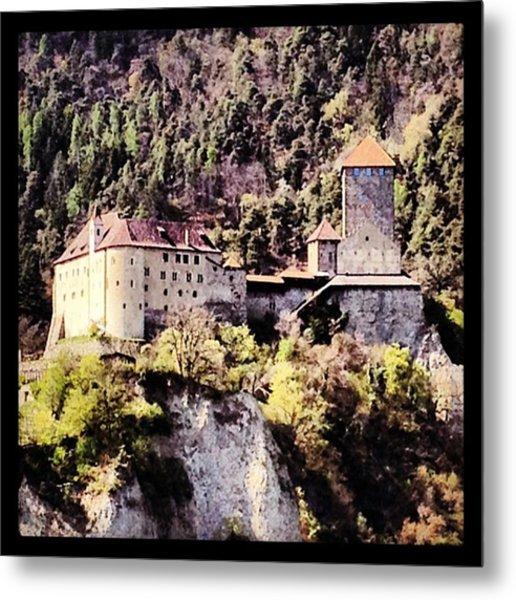 Castel Tirolo... Domina Merano E Tutta Metal Print