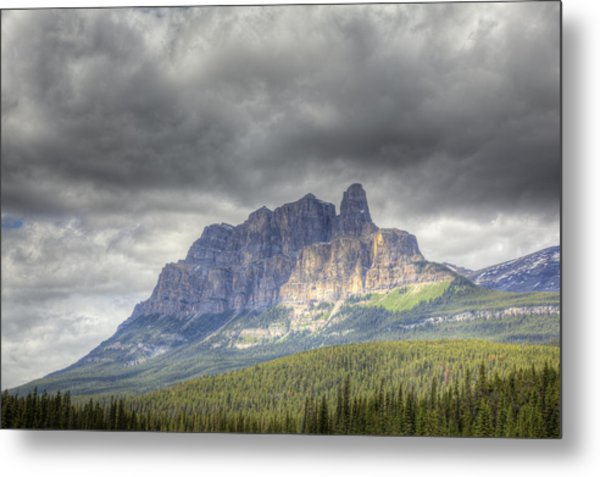 Castle Mountain 2011 Metal Print