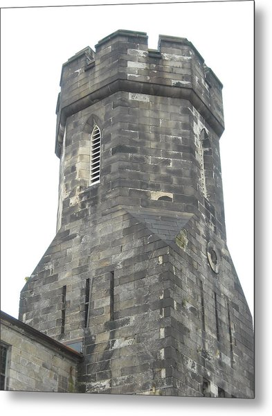 Castle Turret Metal Print