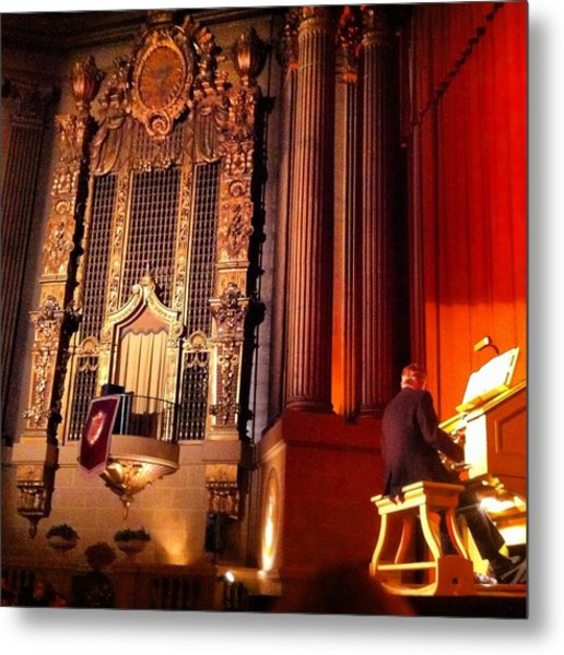 Castro Theater Metal Print by Ken SF